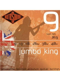 Rotosound: Phosphor Bronze Acoustic Guitar Strings (10-50)  | Acoustic Guitar