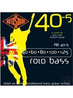 Rotosound: Rotobass 5-String Bass String Set (040 - 125)  | Bass Guitar