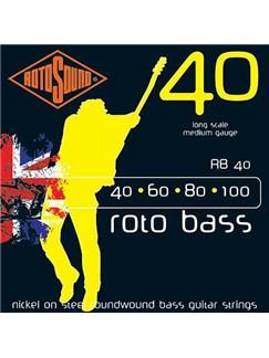 Rotosound: RB40 Bass Strings (40-100)  | Bass Guitar