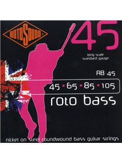 Rotosound: RB45 Bass Strings (45-105)    Bass Guitar