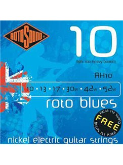 Rotosound: Light Top Heavy Bottom String Set - Roto Blues  | Electric Guitar