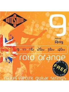Rotosound: Hybrid Electric Guitar String Set - Roto Orange  | Electric Guitar