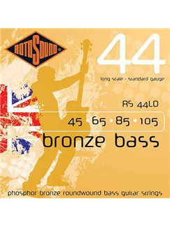 Rotosound: Acoustic Bass Bronze Strings (45-105)  | Acoustic Bass Guitar