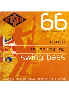 Rotosound: RS66LB Roundwound Bass Guitar Strings (35-90)  | Bass Guitar