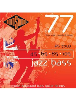 Rotosound: Jazz Bass Flatwound Strings (45-105)  | Bass Guitar