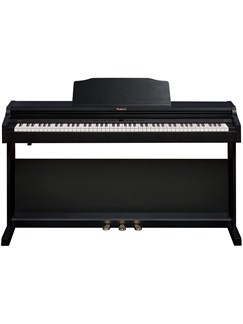 Roland: RP401R Digital Piano - Contemporary Black Instruments | Digital Piano