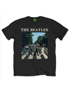The Beatles: Abbey Road Men's T-Shirt - Black (Small)  |