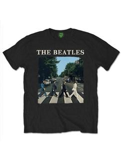 The Beatles: Abbey Road Men's T-Shirt - Black (Large)  |