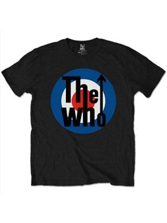 The Who: Target Men's T-Shirt - Black (X Large)  |
