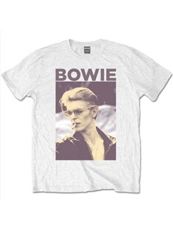Bowie: Men's T-Shirt - Smoking Design (X Large)  |