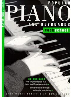 Rockschool Popular Piano And Keyboards - Grade 2 Books and CDs | Keyboard, Piano
