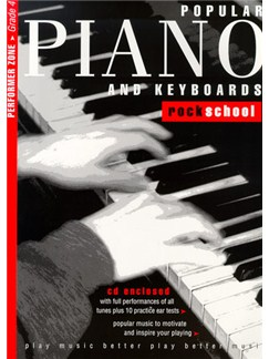 Rockschool Popular Piano And Keyboards - Grade 4 Books and CDs | Keyboard, Piano