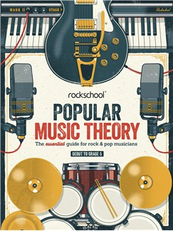 Rockschool: Popular Music Theory Guidebook (Grades Debut – 5) Books |