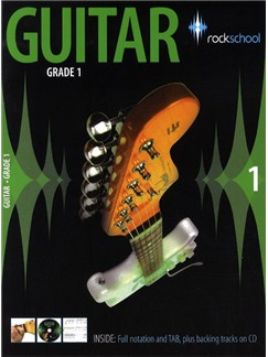Rockschool Guitar - Grade 1 (2006-2012) Bog og CD | Guitar