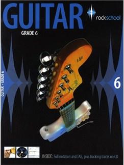 Rockschool Guitar - Grade 6 (2006-2012) Books and CDs | Guitar