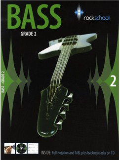 Rockschool Bass - Grade 2 (2006-2012) Books and CDs | Bass Guitar