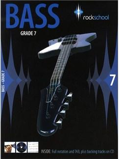 Rockschool Bass - Grade 7 (2006-2012) Books and CDs | Bass Guitar