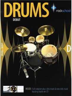 Rockschool Drums - Debut (2006-2012) Books and CDs | Drums