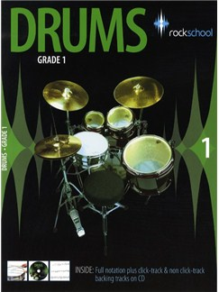 Rockschool Drums - Grade 1 (2006-2012) Books and CDs | Drums