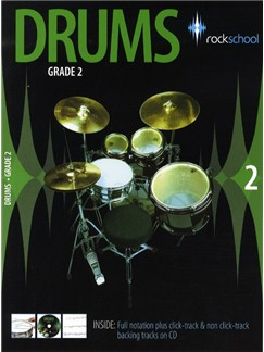 Rockschool Drums - Grade 2 (2006-2012) Books and CDs | Drums