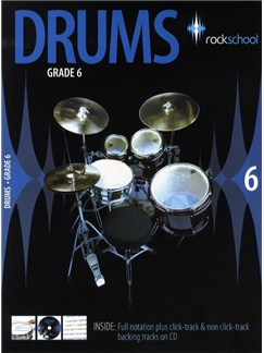 Rockschool Drums - Grade 6 (2006-2012) Books and CDs | Drums