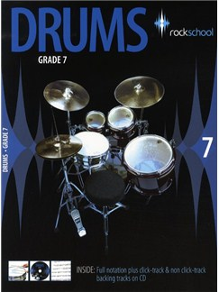 Rockschool Drums - Grade 7 (2006-2012) Books and CDs | Drums