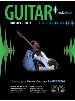 Rockschool: Hot Rock Guitar - Grade 3 Books and CDs | Guitar