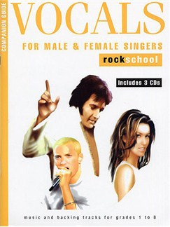 Rockschool Companion Guide - Vocals For Male And Female Singers Books and CDs | Voice