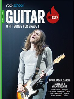 Rockschool: Hot Rock Guitar - Grade 1 (Book/Audio Download) Books and Digital Audio | Guitar