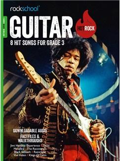 Rockschool: Hot Rock Guitar - Grade 3 (Book/Audio Download) Books and Digital Audio | Guitar