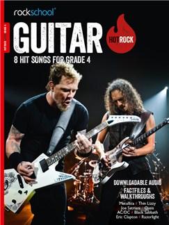 Rockschool: Hot Rock Guitar - Grade 4 (Book/Audio Download) Books and Digital Audio | Guitar