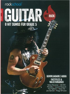 Rockschool: Hot Rock Guitar - Grade 5 (Book/Online Audio) Books and Digital Audio | Guitar