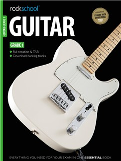 Rockschool Guitar - Grade 1 Books and Digital Audio | Guitar