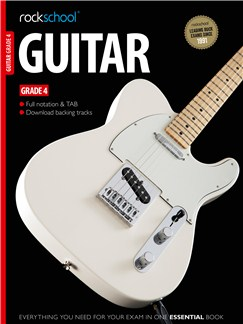 Rockschool Guitar - Grade 4 Books and Digital Audio | Guitar