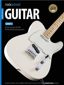 Rockschool Guitar - Grade 8 Books and Digital Audio | Guitar