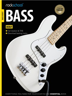 Rockschool Bass - Debut (Book/Download Card) Books and Digital Audio | Bass Guitar