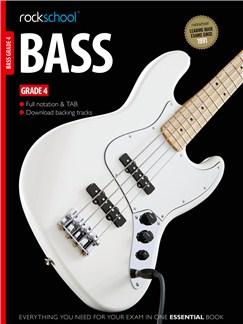 Rockschool Bass - Grade 4 (Book/Download Card) Books and Digital Audio | Bass Guitar