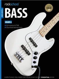 Rockschool Bass - Grade 6 (Book/Download Card) Books and Digital Audio | Bass Guitar