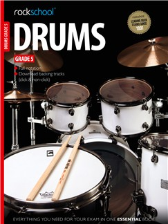 Rockschool Drums - Grade 5 Bog og Digitale Audio | Trommer
