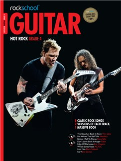 Rockschool: Hot Rock Guitar - Grade 4 Books and CDs | Guitar