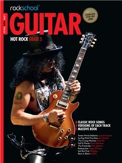 Rockschool: Hot Rock Guitar - Grade 5 Books and CDs | Guitar Tab, Guitar
