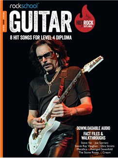 Rockschool: Hot Rock Guitar – Level 4 Diploma Books and Digital Audio | Guitar