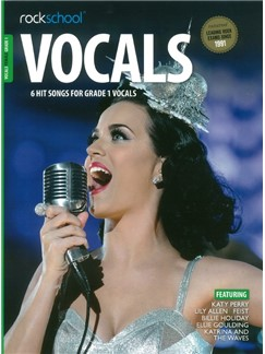 Rockschool: Vocals Grade 1 - Female (Book/Audio Download) Books and Digital Audio | Voice