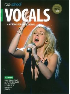 Rockschool: Vocals Grade 2 - Female (Book/Audio Download) Books and Digital Audio | Voice
