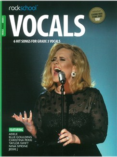 Rockschool: Vocals Grade 3 - Female (Book/Audio Download) Books and Digital Audio | Voice