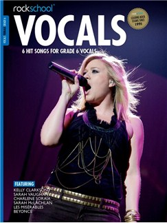 Rockschool: Vocals Grade 6 - Female (Book/Audio Download) 2014-2017 Syllabus Books and Digital Audio | Voice