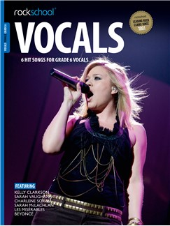 Rockschool: Vocals Grade 6 - Female (Book/Audio Download) Books and Digital Audio | Voice