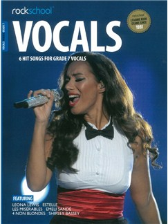 Rockschool: Vocals Grade 7 - Female (Book/Audio Download) Books and Digital Audio | Voice