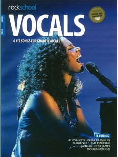 Rockschool: Vocals Grade 8 - Female (Book/Audio Download) Books and Digital Audio | Voice