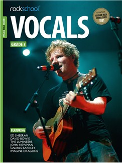 Rockschool: Vocals Grade 3 - Male (Book/Audio Download) Books | Voice